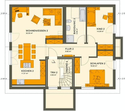 Living Haus - Solution 204 V4 Floorplan 2