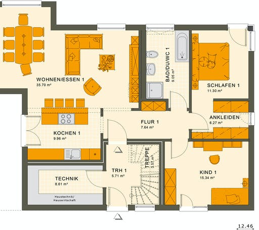 Living Haus - Solution 204 V5 Floorplan 1