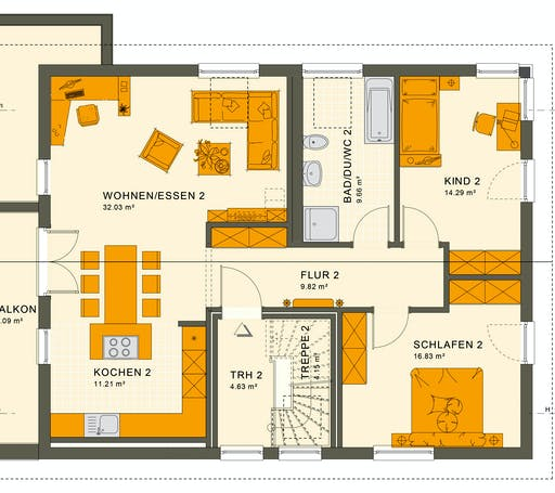 Living Haus - Solution 204 V5 Floorplan 2