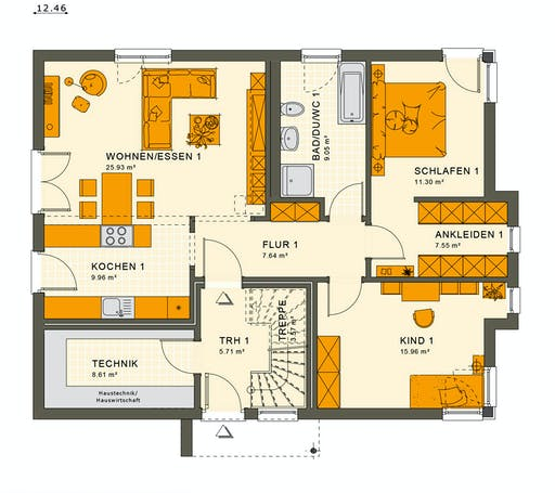 Living Haus - Solution 204 V7 Floorplan 1