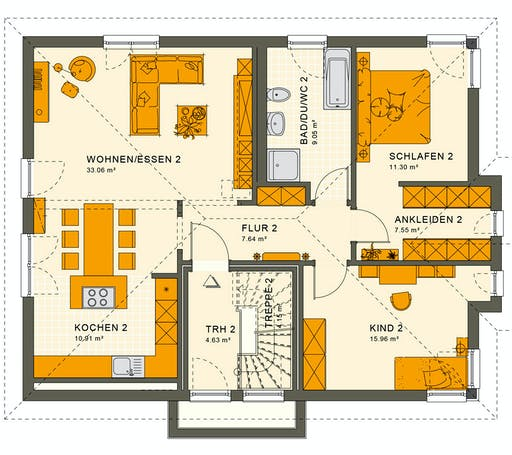Living Haus - Solution 204 V7 Floorplan 2
