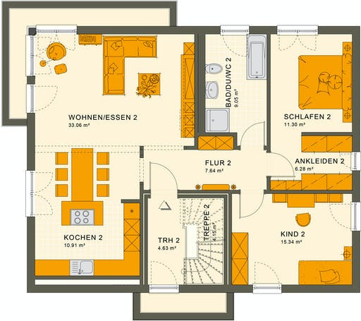 Living Haus - Solution 204 V9 Floorplan 2