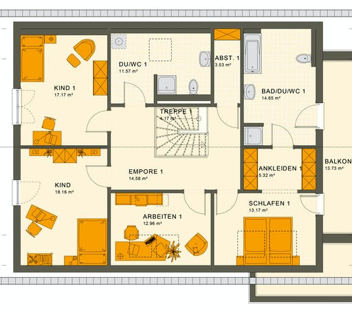 Living Haus - Solution 230 V2 Floorplan 2