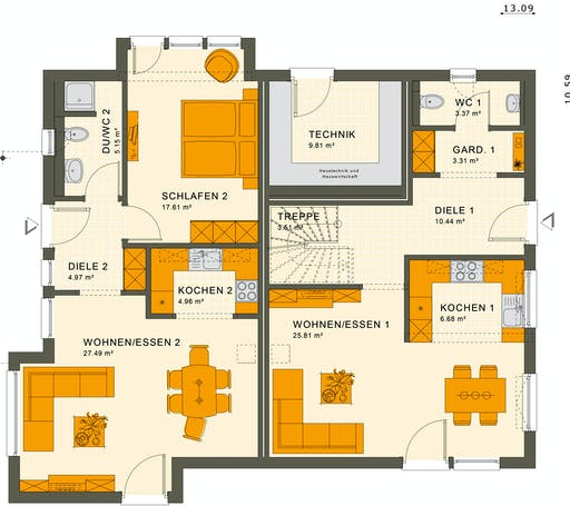 Living Haus - Solution 230 V3 Floorplan 1