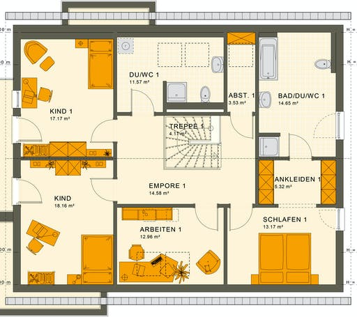 Living Haus - Solution 230 V3 Floorplan 2