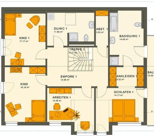 Living Haus - Solution 230 V4 Floorplan 2
