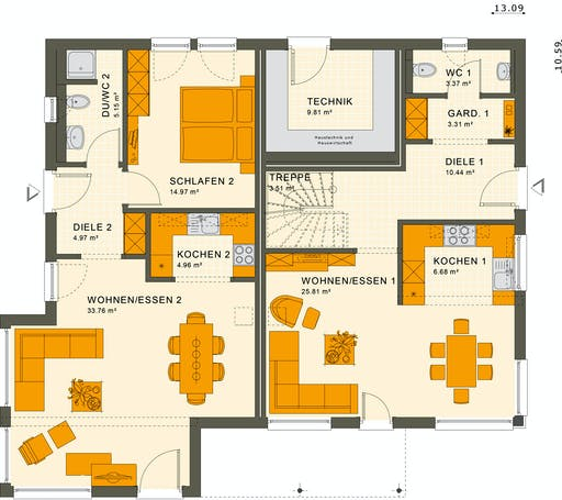Living Haus - Solution 230 V5 Floorplan 1