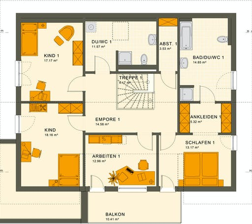 Living Haus - Solution 230 V5 Floorplan 2