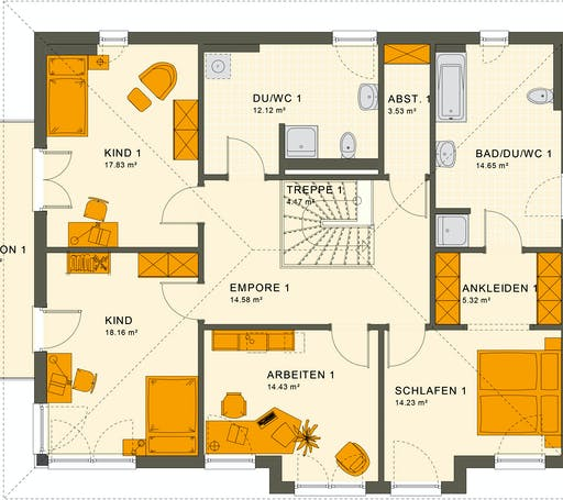 Living Haus - Solution 230 V6 Floorplan 2