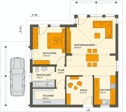 Living Haus - Solution 78 V2 Floorplan 1