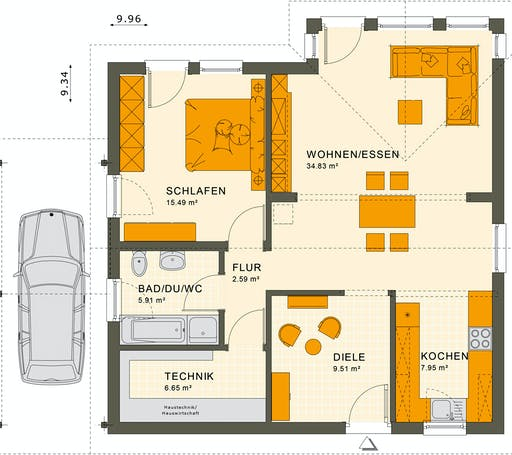 Living Haus - Solution 78 V5 Floorplan 1
