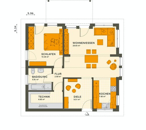 Living Haus - Solution 78 V6 Floorplan 1