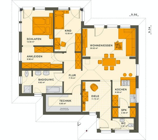 Living Haus - Solution 78 V7 Floorplan 1