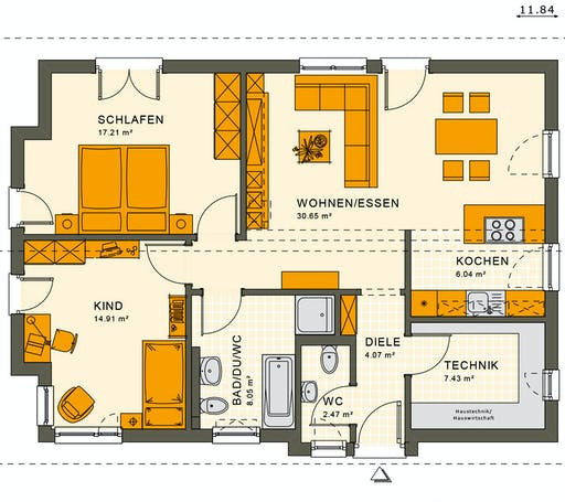 Living Haus - Solution 87 V3 Floorplan 1