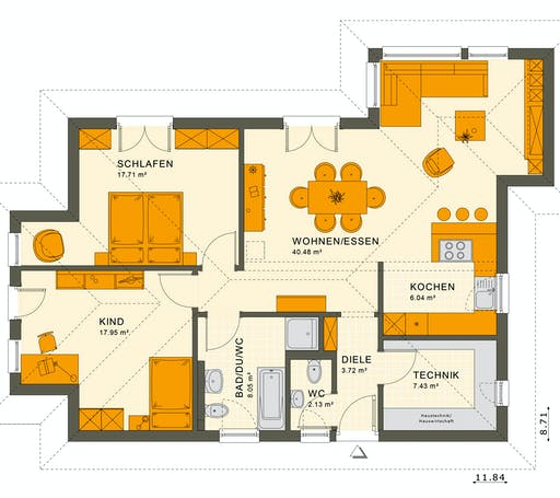 Living Haus - Solution 87 V4 Floorplan 1