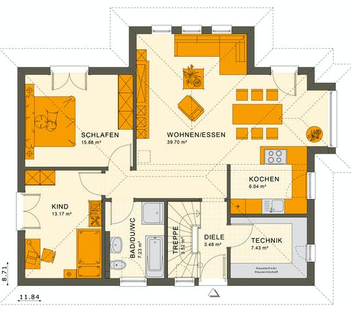 Living Haus - Solution 87 V5 Floorplan 1
