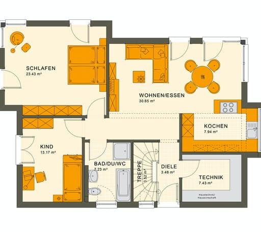 Living Haus - Solution 87 V7 Floorplan 1