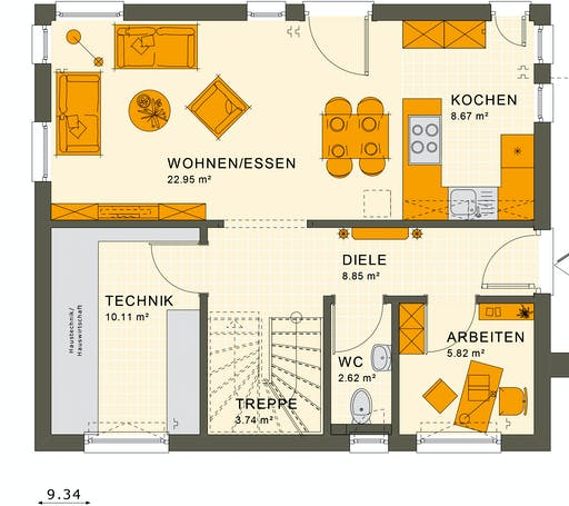 Living Haus - Sunshine 125 V3 Floorplan 1