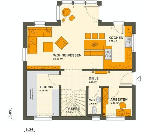 Living Haus - Sunshine 125 V4 Floorplan 1