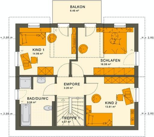 Living Haus - Sunshine 125 V4 Floorplan 2