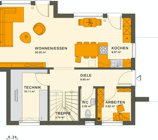 Living Haus - Sunshine 125 V5 Floorplan 1