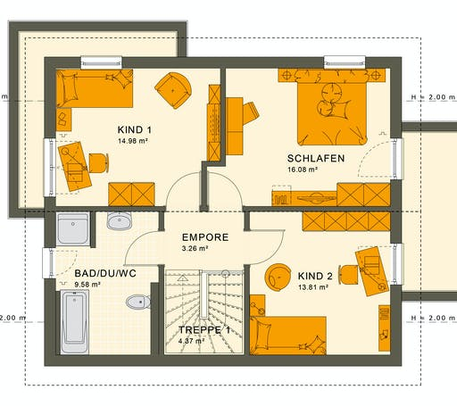 Living Haus - Sunshine 125 V5 Floorplan 2