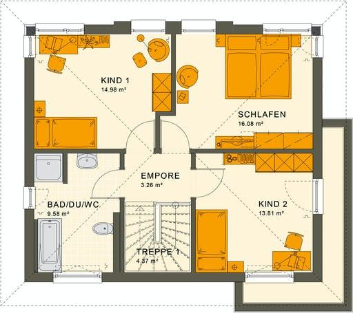 Living Haus - Sunshine 125 V6 Floorplan 2
