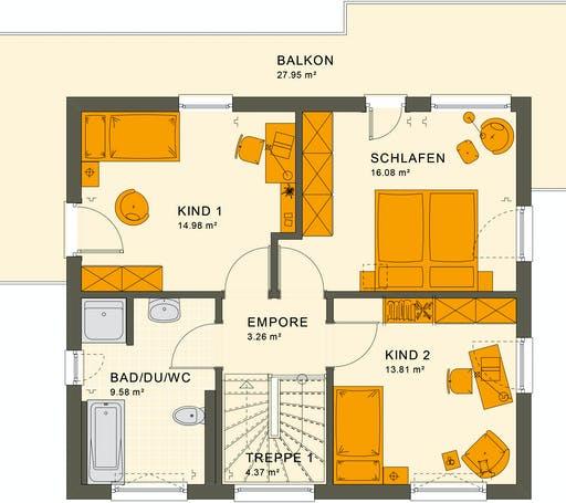 Living Haus - Sunshine 125 V7 Floorplan 2