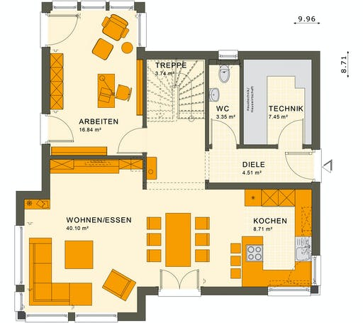 Living Haus - SUNSHINE 143 V3 Floorplan 1