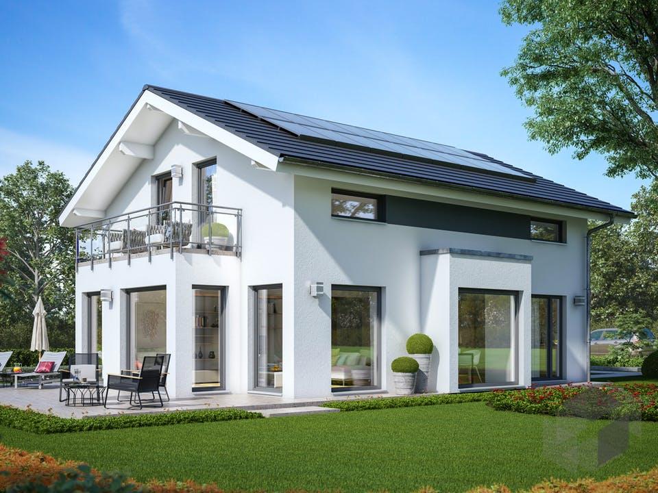 SUNSHINE 143 V4 von Living Haus Außenansicht
