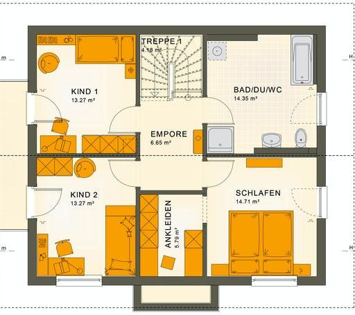 Living Haus - SUNSHINE 143 V4 Floorplan 2