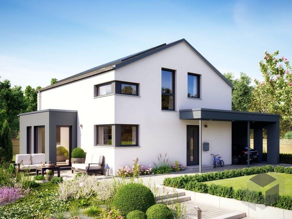 SUNSHINE 143 V5 von Living Haus Außenansicht