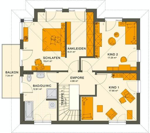 Living Haus - SUNSHINE 165 V6 Floorplan 2