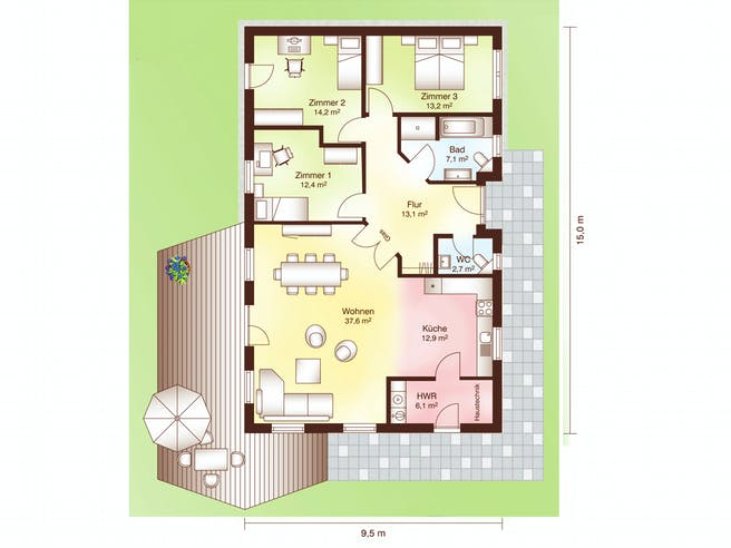 Lökken Floorplan 1