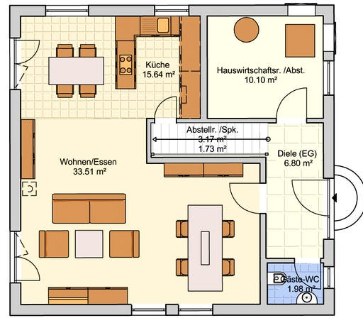 London Floorplan 1