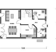 Doppelhaus Lucca Grundriss