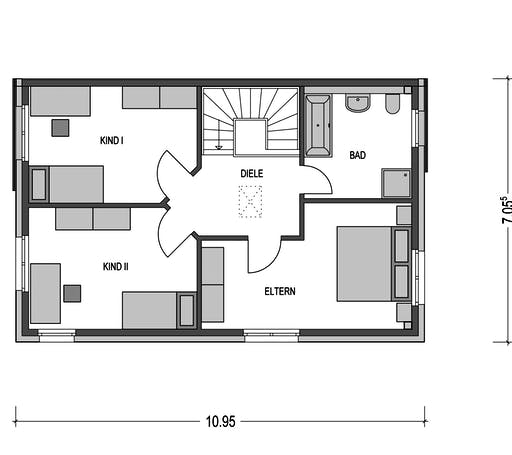 Doppelhaus Lucca Floorplan 2