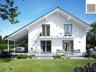 Architektenhaus Luce von Kern-Haus Außenansicht 1