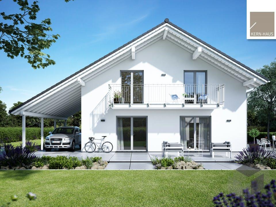 Architektenhaus Luce von Kern-Haus Außenansicht