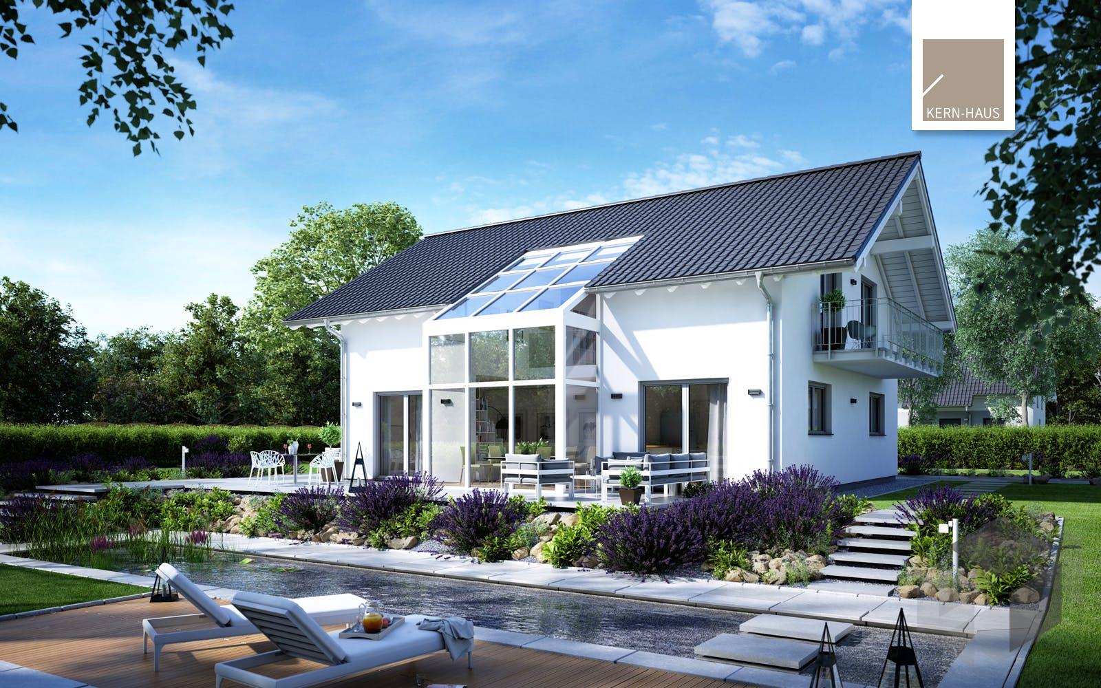 architektenhaus luce von kern haus komplette. Black Bedroom Furniture Sets. Home Design Ideas