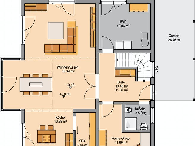 Architektenhaus Luce Floorplan 2
