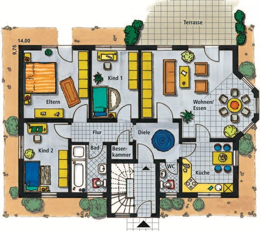 Lugano Floorplan 1