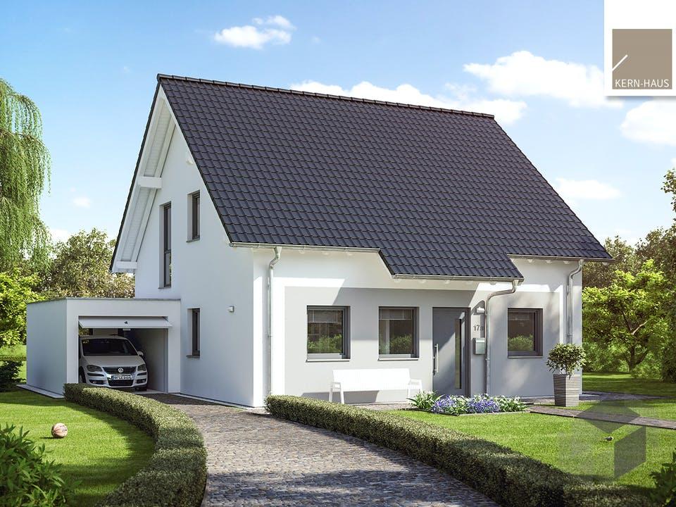 Architektenhaus Luna von Kern-Haus Außenansicht