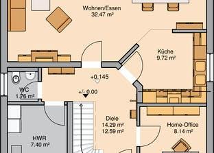 Architektenhaus Luna Grundriss