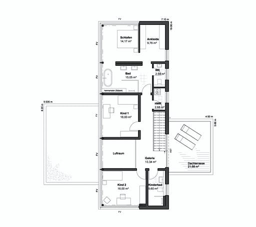 Lux haus MH Bad Vilbel Floorplan 2