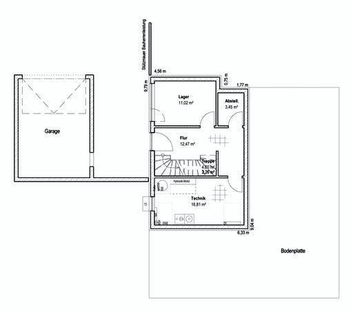 Luxhaus - Pultdach Klassik 189 Floorplan 3