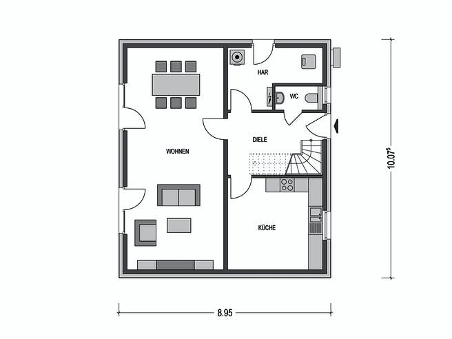 EFH M61.D Floorplan 1