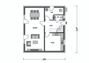 Einfamilienhaus M61.D Grundriss
