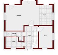 Einfamilienhaus Mailand Grundriss