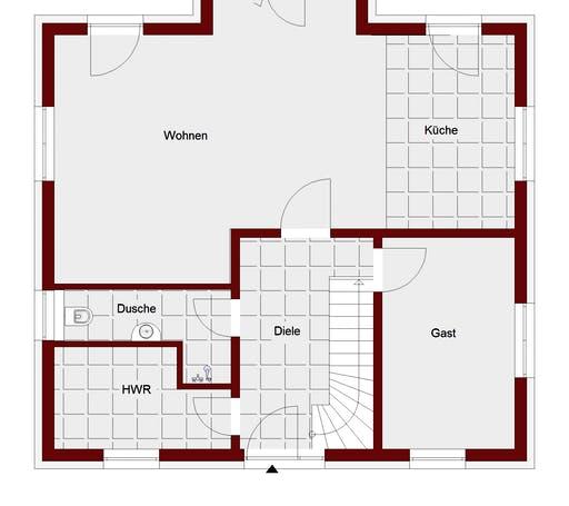 Mailand Floorplan 1
